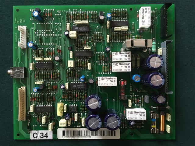 Piirilevy C3402 alk. 05/2002 - Truma C3402- 4002-6002CH varaosat - 34000-98000 - 2